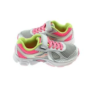 Saucony Girls Cohesion 10 A/C Running Shoes 12.5